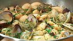 Torres en la cocina - Judiones con cecina y almejas