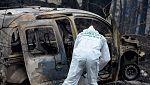 Dos de las cuatro víctimas de Galicia son dos ancianas que murieron intentando escapar del fuego