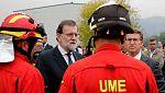 """Rajoy confirma que los incendios de Galicia son intencionados: """"Esto ha sido provocado"""""""