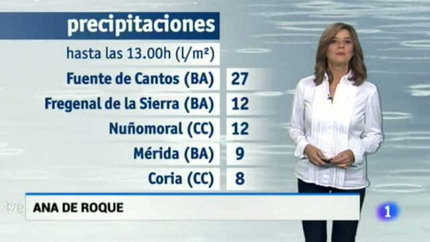 El tiempo en Extremadura - 17/10/17