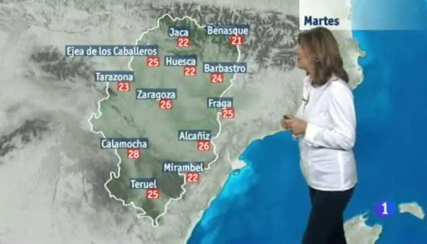 El tiempo en Aragón - 17/10/2017