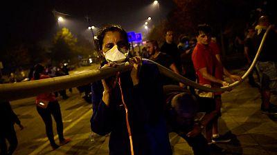 Drama, miedo y solidaridad en la oleada de incendios en Galicia