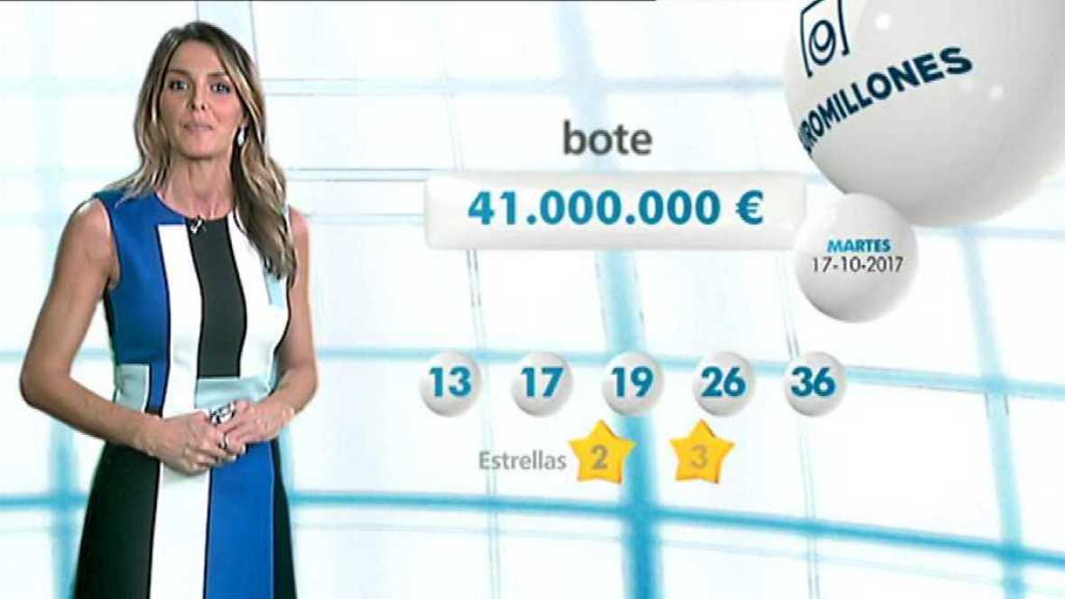 Bonoloto + EuroMillones - 17/10/17 - ver ahora