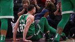 Los Celtics pierden y se lesiona Hayward de gravedad