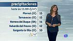 El tiempo en Extremadura - 18/10/17