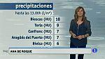 El tiempo en Aragón - 18/10/2017