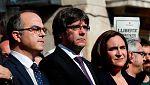 La Generalitat de momento no piensa dar marcha atrás tras la respuesta de Puigdemont