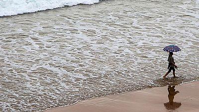 La lluvia llega a España con mucha fuerza en algunas comunidades