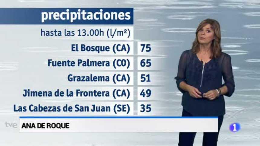 El tiempo en Andalcía - 18/10/17