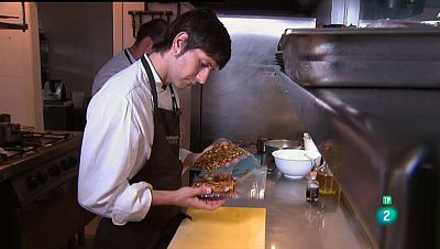 La Aventura del Saber. TVE. Jefes de cocina: Sergio Bastard