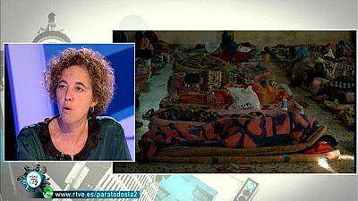 Para Todos La 2 - Entrevista a Anna Figueras, representante de la Comisión Española de Ayuda al Refugiado