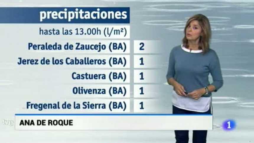 El tiempo en Extremadura - 19/10/17