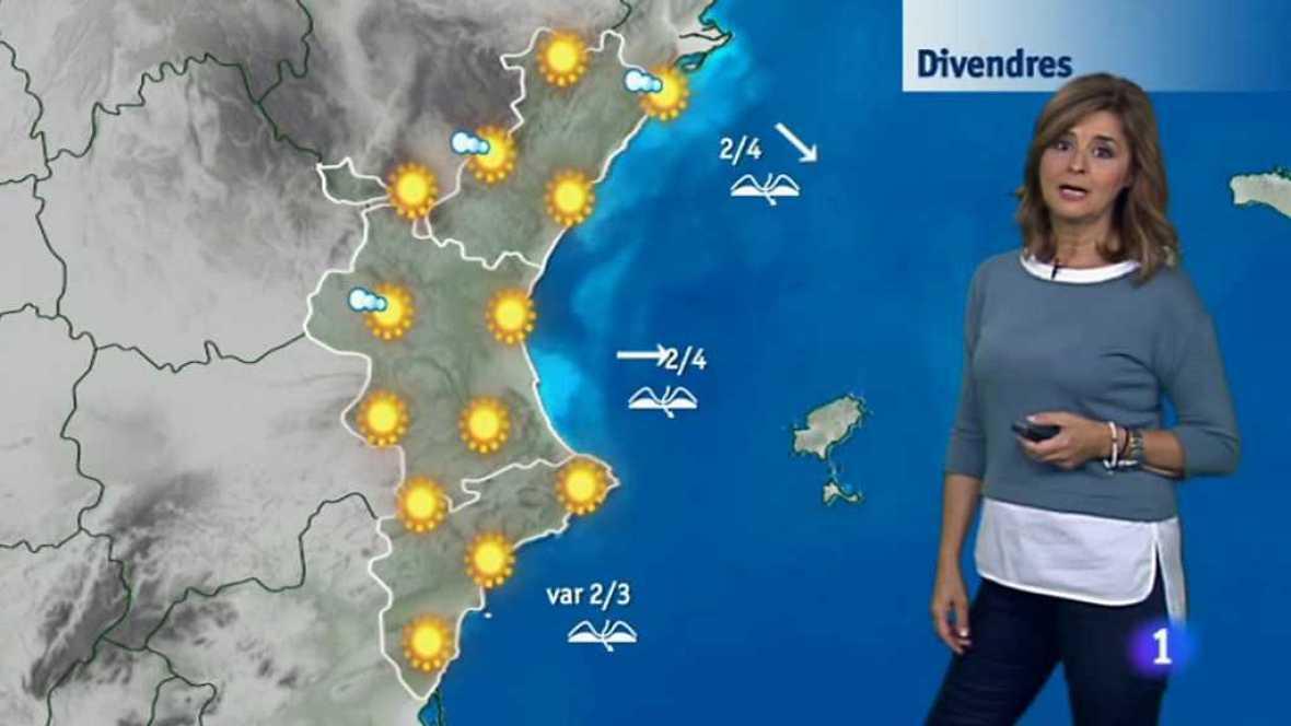 El tiempo en la Comunidad Valenciana - 19/10/17 - ver ahora