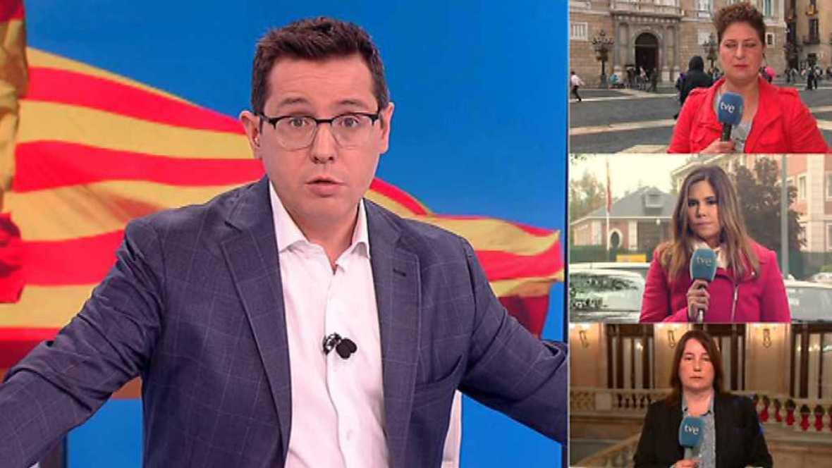 Los desayunos de TVE - Desafío independentista, 1ª parte - 19/10/17 - ver ahora
