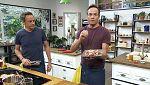 Torres en la cocina - Risotto de hierbas y picantones con cieruelas