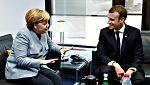 Merkel y Macron respaldan al Gobierno español en la crisis de Cataluña