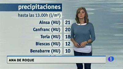El tiempo en Aragón-19/10/17
