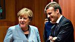 Markel y Macron apoyan a Rajoy frente al desafío soberanista en la cumbre de la UE