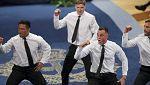 La 'haka' de los All Blacks estremece al Teatro Campoamor de Oviedo