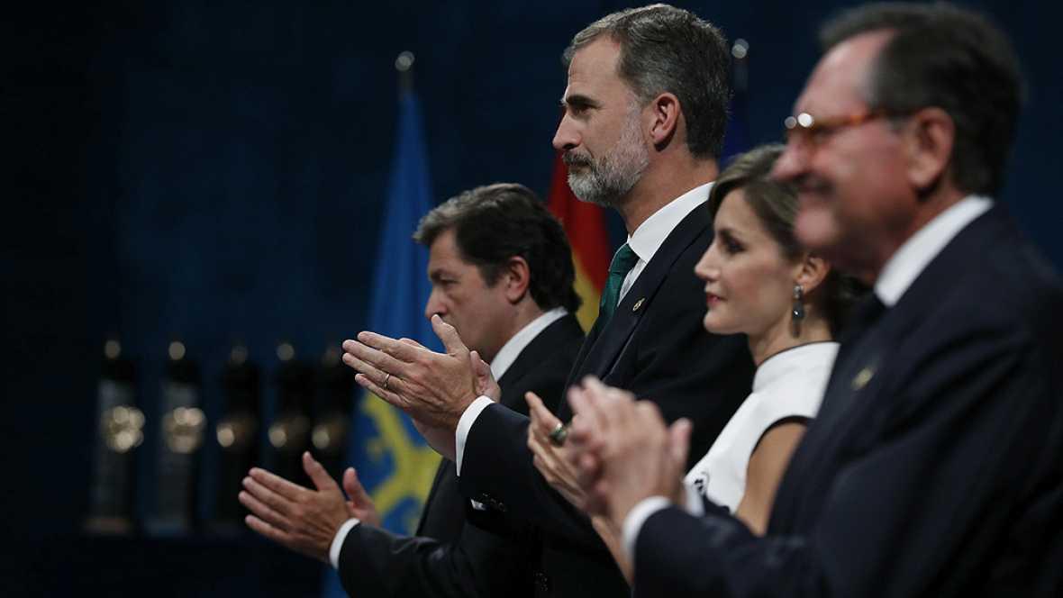 Discurso del rey Felipe VI en los premios Princesa de Asturias 2017