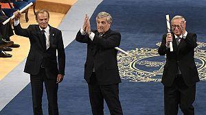 Los líderes de la UE defienden el Estado de Derecho ante el desafío independentista