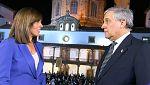 """Antonio Tajani: """"El gobierno de Cataluña haría bien en dejar la idea de independencia"""""""