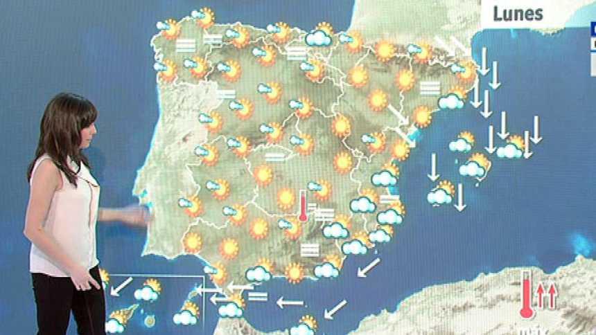 Cielo despejado con temperaturas en ascenso en la mayor parte del país