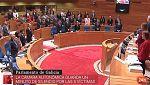 Parlamento - Otros parlamentos - Minuto de silencio en el parlamento gallego -22/10/2017