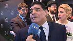 """Maradona, sobre Cristiano: """"Aunque no haga ni un gol, dámelo para mi equipo"""""""