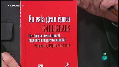 La Aventura del Saber. TVE. Libros recomendados. Editorial catarata. 'En esta gran época' de Karl Krauss.