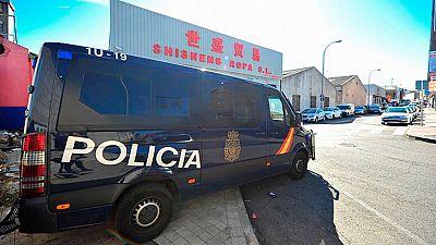 La policía nacional y la agencia tributaria han desarticulado una trama criminal  de la mafia china dedicada al blanqueo de capitales
