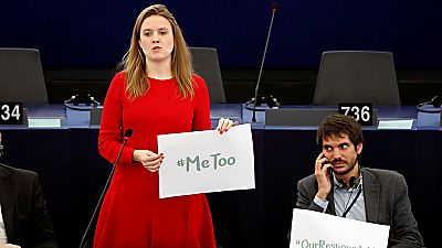 Debate en el Parlamento Europeo sobre el acoso sexual en el seno de la institución