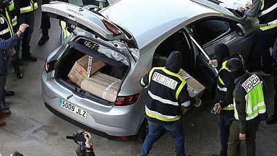 La Policía intercepta una furgoneta de los Mossos con documentación, camino de una incineradora