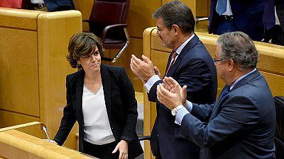 """El Gobierno afirma que su obligación es """"rescatar"""" a Cataluña y """"hacer respetar la ley"""""""