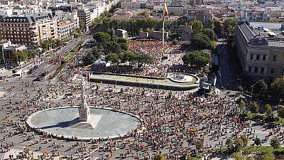 Nueva concentración en Madrid para la defensa de la Nación española