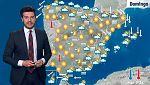Cielos poco nubosos con algunas lluvias en el Cantábrico, Baleares y Levante