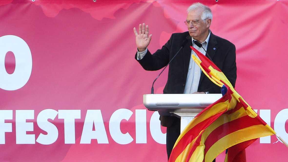"""Borrell: """"Si hubiera habido realmente DUI muchos estarían en el paro, pero gracias al 155 no ocurrirá"""""""