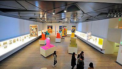 Historietas del tebeo es el título de una exposición en la que se pueden ver 60 años de humor gráfico en España
