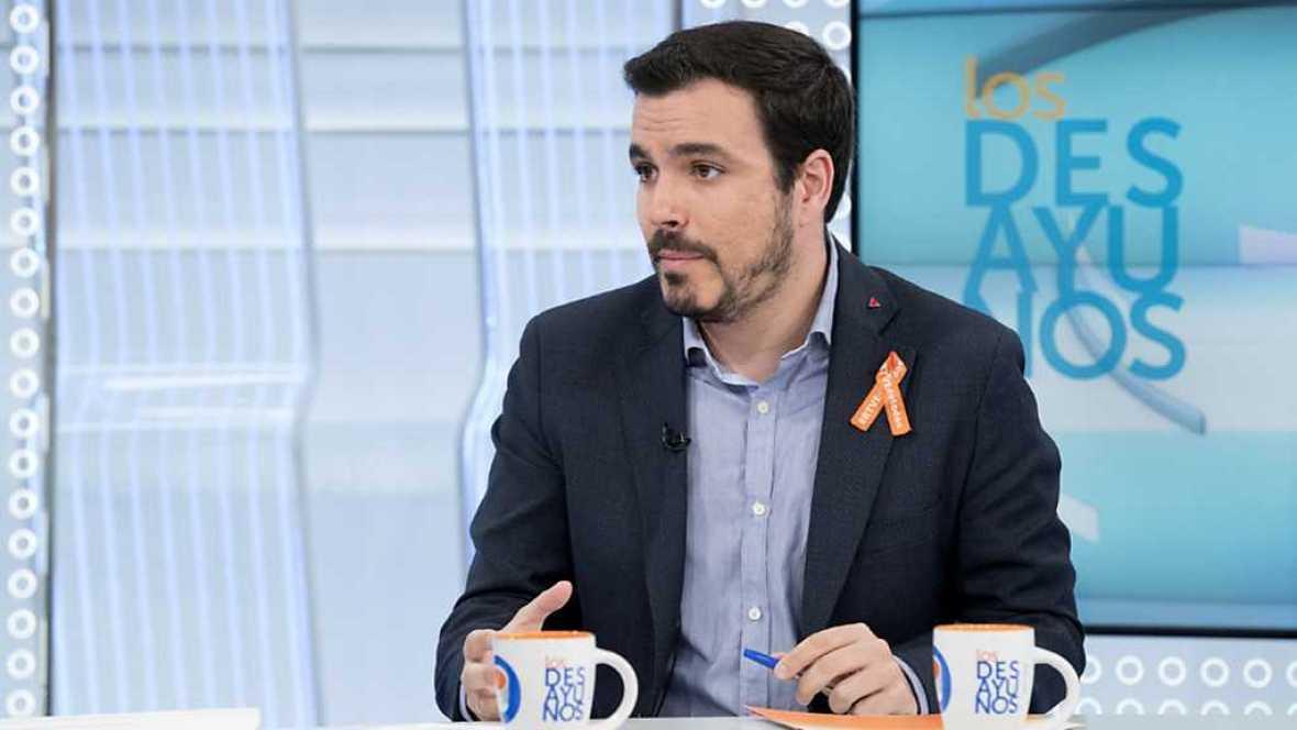 Los desayunos de TVE - Alberto Garzón, coordinador federal de Izquierda Unida  - ver ahora
