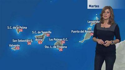 El tiempo en Canarias - 31/10/2017