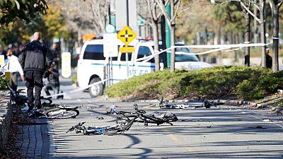 Al menos 8 muertos en un atropello terrorista en Manhattan, en Nueva York