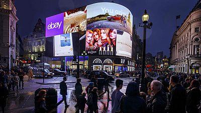 La mayor videopantalla de ultra alta definición de Europa se enciende en Londres