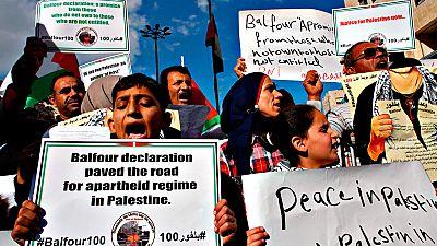 Israel celebra y los palestinos denigran la Declaración de Balfour un siglo después