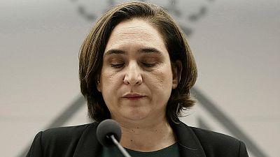 "Colau: ""Exijo a Rajoy que detenga esta espiral represiva"""