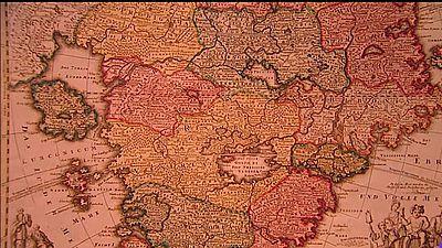 Una exposición reúne cartografía de todos los tiempos en la Biblioteca Nacional