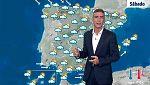 Precipitaciones en gran parte del país y descenso térmico