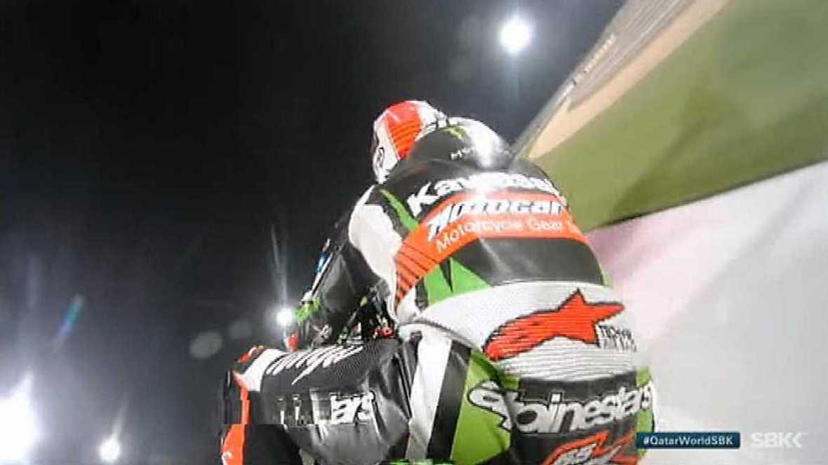 Motociclismo - Campeonato del Mundo Superbike. WSBK 2ª Carrera prueba Catar - ver ahora