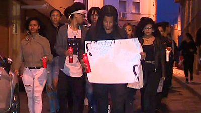 Amigos y familiares homenajean a la joven dominicana encontrada muerta el pasado miércoles