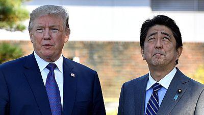 Trump refuerza su dura retórica contra Pyongyang en el inicio de su gira asiática