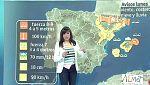 La semana arranca con viento fuerte en el Ebro, Pirineos, Menorca y Ampurdán